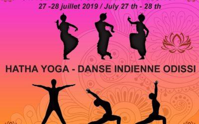 STAGE d'été de YOGA et de danse Indienne Odissi les 27 et 28 juillet