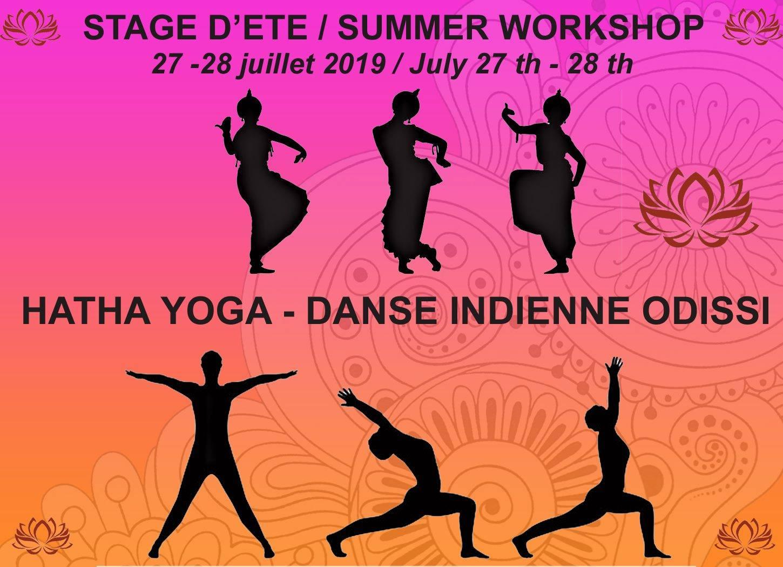 STAGE d'été de YOGA et de danse Indienne Odissi